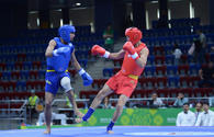 Baku 2017: Vugar Karamov and Parviz Abdullayev advance to semi-finals in wushu