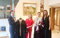 """Azerbaijani delegation joins Global Summit of Woman <span class=""""color_red"""">[PHOTO]</span>"""