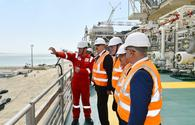 "President Aliyev attends sail away ceremony of topsides units for Shah Deniz-2 platform <span class=""color_red"">[UPDATE / PHOTO]</span>"