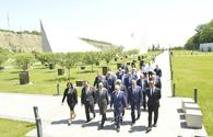 Special Commission inspects territory of Guba Genocide Memorial Complex
