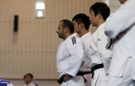 National judo fighters on training camp in Tokyo