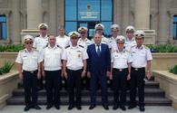 "Vietnamese Navy delegation visits Azerbaijan <span class=""color_red"">[PHOTO]</span>"