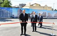 """President Aliyev inaugurates new administrative building of Narimanov District Court <span class=""""color_red"""">[PHOTO]</span>"""