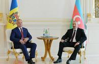 President Aliyev: Important to give dynamics to relations with Moldova