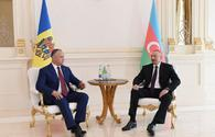 Dodon: Azerbaijan, Moldova have great potential to develop relations
