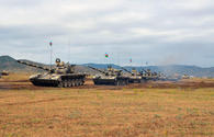 "Azerbaijani army holds live-fire stage of large-scale drills <span class=""color_red"">[PHOTO]</span>"
