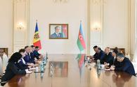"President: Azerbaijan, Moldova have common approaches to current events <span class=""color_red"">[UPDATE]</span>"