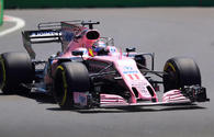 Sergio Perez out of F1 free practice session