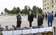 "President Aliyev opens Internal Troops` military unit in Shirvan <span class=""color_red"">[PHOTO]</span>"