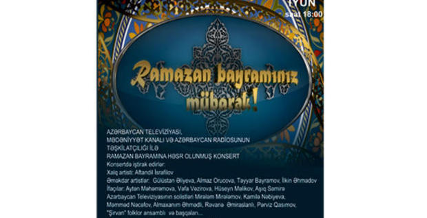 "Mardakan to host  Ramadan holiday concert <span class=""color_red"">[VIDEO]</span>"