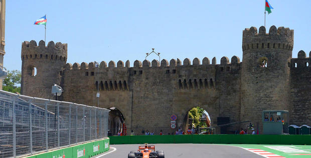 "Formula 1 practice session in Baku <span class=""color_red"">[PHOTO]</span>"