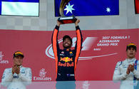 Ricciardo says enjoyed Azerbaijan Grand Prix, Bottas calls it exciting