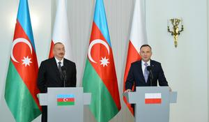 "Azerbaijani, Polish presidents made press statements <span class=""color_red"">[UPDATE / PHOTO]</span>"