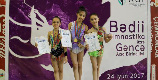 "Open championship of Ganja on rhythmic gymnastics ends <span class=""color_red"">[PHOTO]</span>"