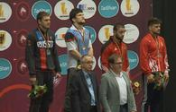 "Azerbaijani wrestlers win three medals in Dortmund <span class=""color_red"">[PHOTO]</span>"