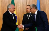 "Azerbaijan's envoy presents credentials to Brazilian leader <span class=""color_red"">[PHOTO]</span>"