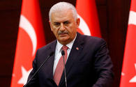 Binali Yildirim votes in Istanbul municipal elections