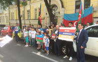Protests against Armenian aggression continue