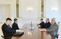President Ilham Aliyev receives Deputy Chairman of Cabinet of Ministers of Turkmenistan