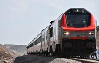 "First train on BTK route goes across Turkish section <span class=""color_red"">[PHOTO]</span>"