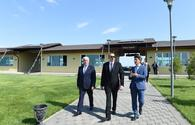 """President Ilham Aliyev visits Pirallahi district <span class=""""color_red"""">[UPDATE]</span>"""