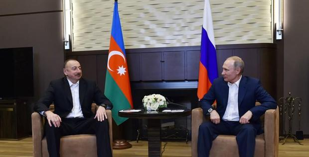 "Azerbaijani, Russian presidents meet in Sochi <span class=""color_red"">[PHOTO]</span>"