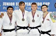 "Azerbaijani judokas win 13 medals in Prague <span class=""color_red"">[PHOTO]</span>"