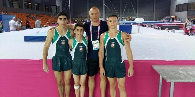 Azerbaijani gymnasts join European Youth Olympic Festival