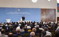 President Ilham Aliyev hails Azerbaijan`s achievements in ensuring food security