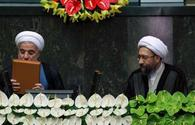 """Iran's President Rouhani takes oath of office for 2nd term <span class=""""color_red"""">[PHOTO]</span>"""