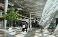 Heydar Aliyev Int'l Airport serves over 2 million passengers