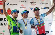 Azerbaijani cyclist ranks third in Ukraine