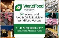 Azerbaijani products to be presented at Worldfood Moscow