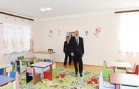 "Ilham Aliyev attends opening of renovated day nursery-kindergarten in Goygol <span class=""color_red"">[PHOTO]</span>"