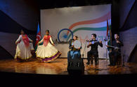 """Azerbaijani, Indian music jointly sound on Baku stage <span class=""""color_red"""">[PHOTO]</span>"""