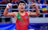 Azerbaijani wrestler wins world silver in Athens