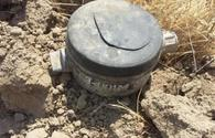 """Armenian anti-personnel mine found in Agdam <span class=""""color_red"""">[PHOTO]</span>"""