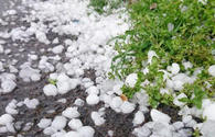 Hail storms hit country's regions