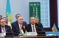 Ilham Aliyev: Armenia which destroyed Azerbaijani mosques cannot be friend of Muslim countries