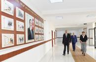 "President Aliyev visits schools in Sabayil, Nasimi districts after major overhaul <span class=""color_red"">[UPDATE / PHOTO]</span>"
