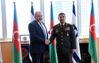 Azerbaijani, Israeli defense ministers eye military cooperation