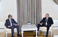 "President Aliyev receives director of IMF Middle East, Central Asia Department <span class=""color_red"">[UPDATE / PHOTO ]</span>"