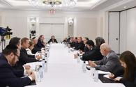 President Aliyev meets with representatives of American Jewish organizations in New York