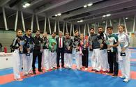 Karate fighters grab 18 medals at Basel Open Masters