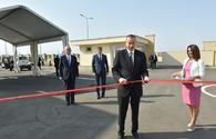 "President Aliyev inaugurates Balakhani Industrial Park <span class=""color_red"">[PHOTO]</span>"