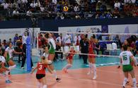 Azerbaijan secures first victory at 2017 Women's European Volleyball Championship