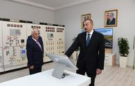 Azerbaijani president launches Neftchala substation