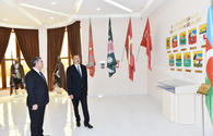 President Ilham Aliyev attends inauguration of Flag Museum in Salyan