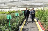 "President Ilham Aliyev visits seawater desalination complex in Salyan <span class=""color_red"">[PHOTO]</span>"
