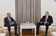 """President Aliyev receives NATO rep. <span class=""""color_red"""">[UPDATE]</span>"""